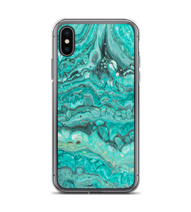 Marble Turquoise Phone Case