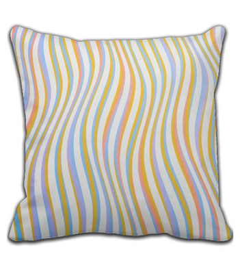 Throw Pillow Creative colors II