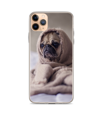 Dog Brown Pug Phone Case