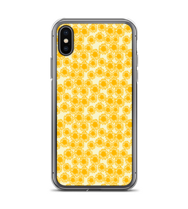 Sunflower Print Pattern Phone Case