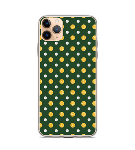 Glitter Polka Dot Print Pattern Phone Case