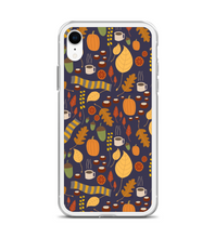 Fall Leaves Scarf Print Phone Case