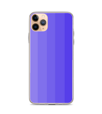 Gradient Purple Striped Pattern Phone Case