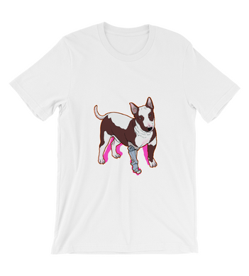 T-Shirt Dog android cyberpunk future art