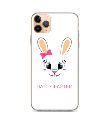Easter Bunny Face Print Phone Case