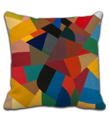 Throw Pillow Abstract Art