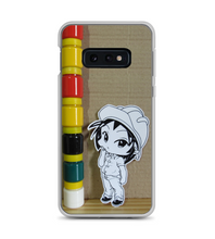Chibi enginner manga anime colors profession engineering design architect small character Phone Case