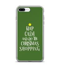 Keep Calm And Do The Christmas Shopping Tree Phone Case