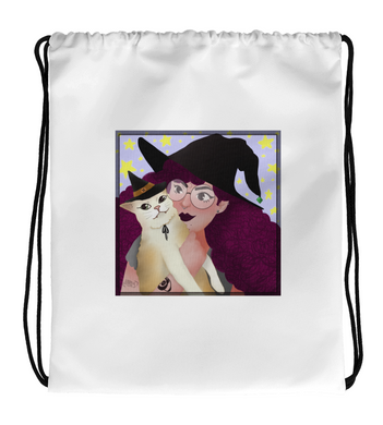 Drawstring Gym Bag Portraits