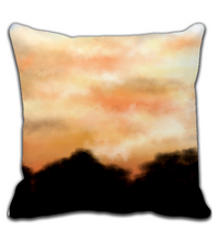 Throw Pillow Sunset