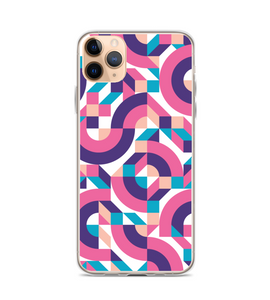 Abstract Geometric - Italian Memphis Design Fashion Style Phone Case
