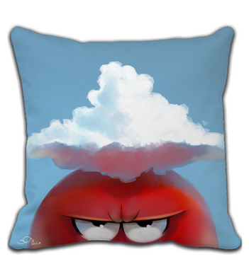 Throw Pillow cloud