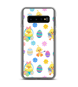 Easter Egg Chick Print Phone Case