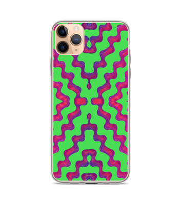 asteca indian native green natural plants for cool summer stylized Phone Case