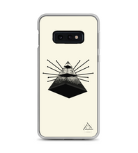 pyramid triangle math three points eye 3d see transcend Phone Case