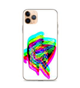 killer whale skeleton rgb split Phone Case