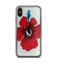 The red flower Phone Case
