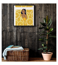 Framed Poster Lemon