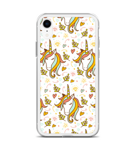 Unicorn Print Phone Case