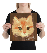 Canvas Cat-Painting