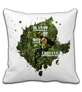 Throw Pillow Magic_Forest