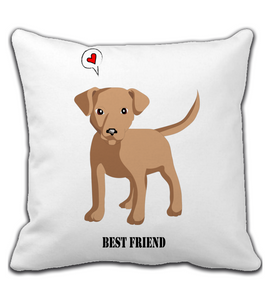 Throw Pillow Dog