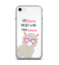This Llama Doesnt Want Your Drama Phone Case
