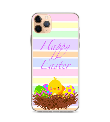 Easter Chick Nest Print Phone Case