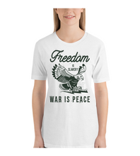 T-Shirt George orwell quote freedom is slavery war is peace