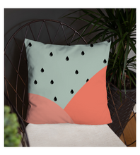 Throw Pillow Watermelon Rain Pillow
