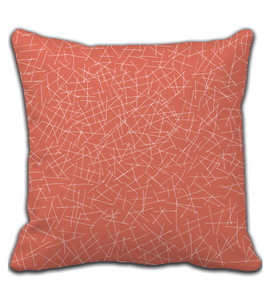 Throw Pillow Abstract Line