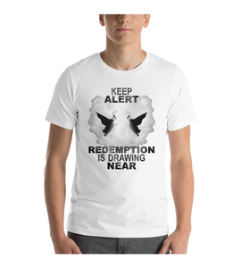T-Shirt Jesus Christ rapture redemption trumpets angels salvation church hope heaven lord god