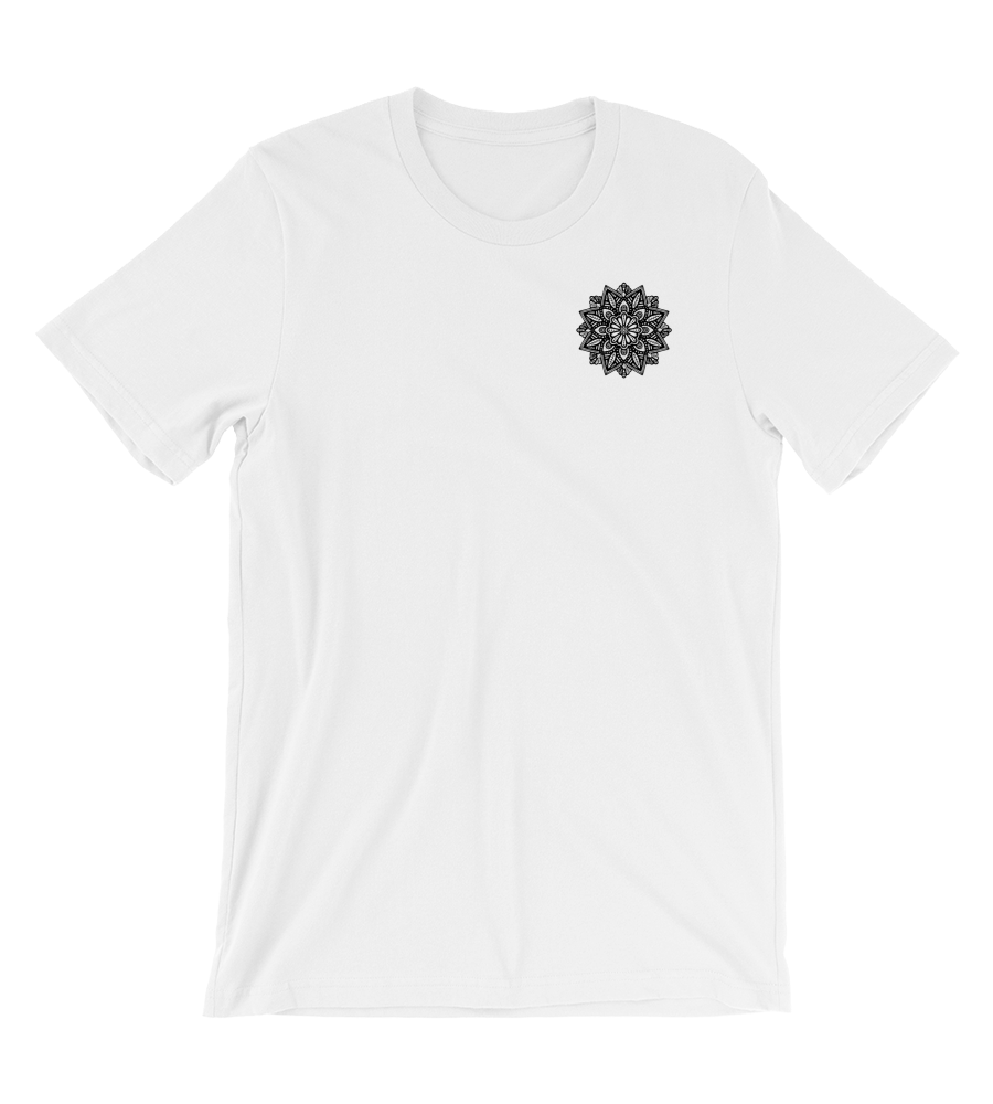 T-Shirt Mystical mandala Black and White - 2020