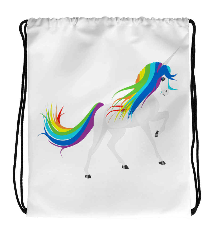 Drawstring Gym Bag Magic_Unicorn