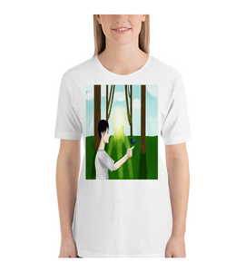 T-Shirt Girl and Nature
