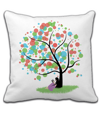 Throw Pillow Love reading pillow