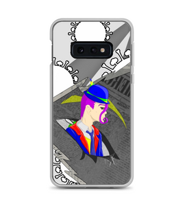Influenza  pandemic personification phone case Phone Case