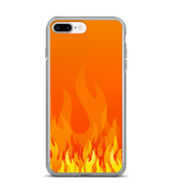 Fire Flame Print Pattern Phone Case
