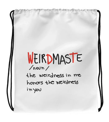 Drawstring Gym Bag Weirdmaste