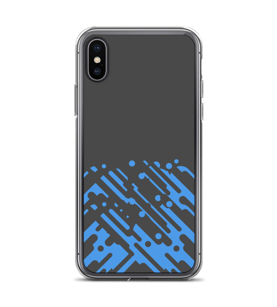 Material-Blue Phone Case