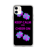 Keep Calm Cheer On Print Pattern Phone Case