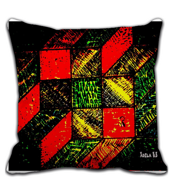 Throw Pillow Cubo