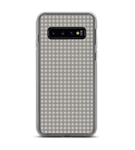 Gray Plaid Print Pattern Phone Case