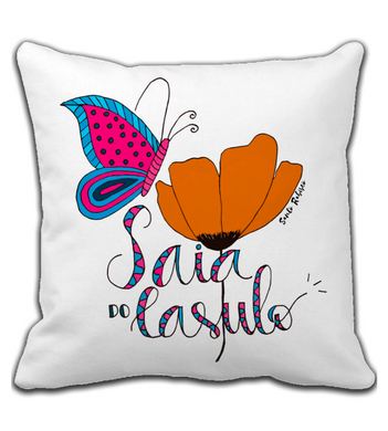 Throw Pillow Saia do Casulo