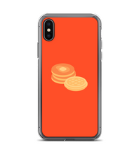 Red Orange Breakfast Waffle and Pancake Phone Case Phone Case