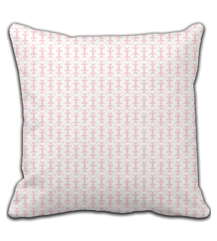 Throw Pillow Abstract Pattern