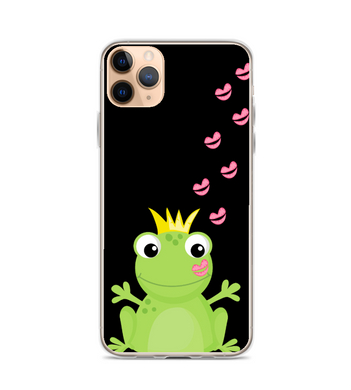 Frog Toad Prince Kiss Print Phone Case
