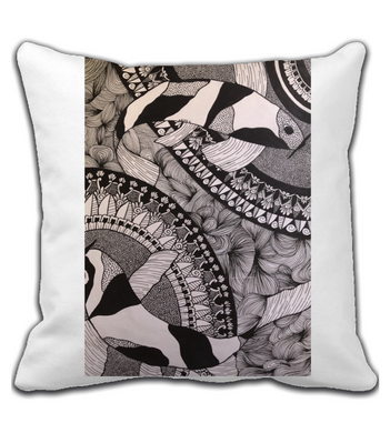 Throw Pillow laura by art