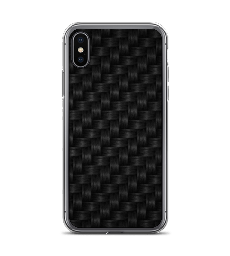 Black Basket Weave Phone Case