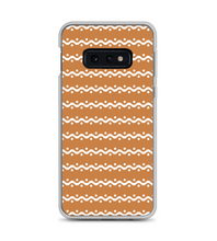 Brown Gingerbread Icing Christmas Pattern Print Phone Case